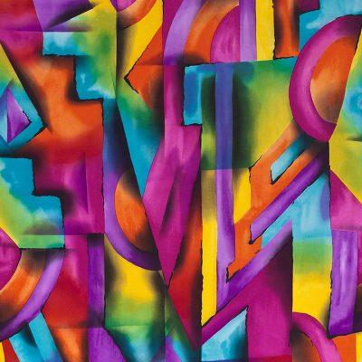 Neon Geometric