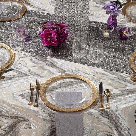 Silver Aspen Tablescape