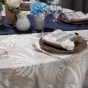 White Calypso Tablescape