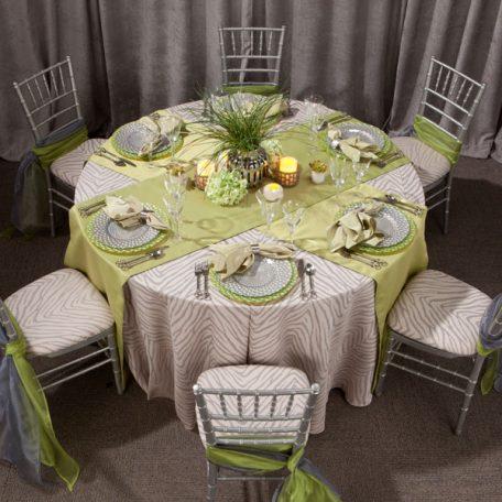 Gray Zecora Tablescape