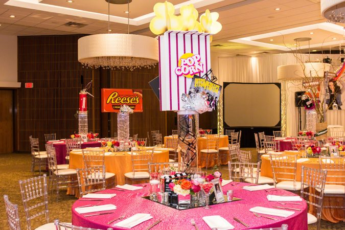 Tablecloth rental for Bar/Bat Mitzvahs