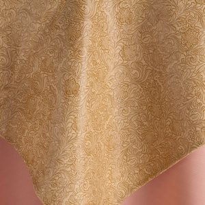 Brown and Gold Santa Fe Natural Overlay Rental for Events