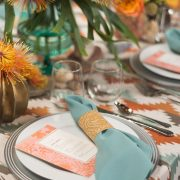 Sunset Ganado Tablescape