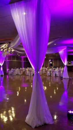 Check out photos from delduca wedding fabulous events rent draping and led uplighting in michigan for weddings and special events junglespirit Images