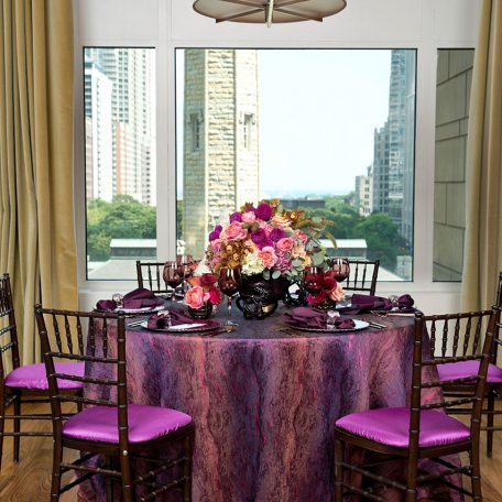 Designer: Designs by Pavel | Venue: NoMI Kitchen at Park Hyatt Chicago