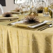 This elegant Entangled table linen pattern is a great way to enhance any event, serving as a solid foundation for many different types of events.