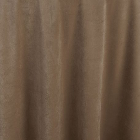 Create drama and excitement for any event with Walnut Velvet table linen. This delicate dusty brown becomes dramatic with the opalescent plush fabric.