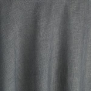 Restrained and ultra-modern, the silver gray jacquard weave of this Steel Brimble table linen drapes effortlessly and has a sense of low-key luxury.
