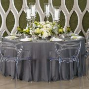 Rent from Fabulous Events. We are the leader in linen rentals. We have one of the largest selections of rental table linens, chair covers, napkins & more.