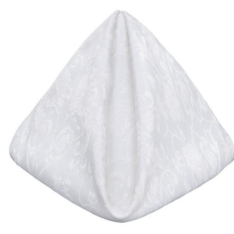 White Ashley Dinner Napkin