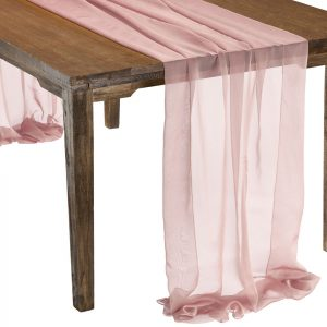 This elegant Blush Pink Graceful table drape is one of several unique Gracefuls available in the Fabulous Events selection of table drapes and other linen rentals. Use it to create effortless beauty for your tables, and combine it with our other linen designs for a truly original theme. Rent it here today. 877-200-2424
