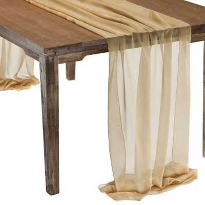 This elegant Gold Graceful table drape is one of several unique Gracefuls available in the Fabulous Events selection of table drapes and other linen rentals. Use it to create effortless beauty for your tables, and combine it with our other linen designs for a truly original theme. Rent it here today. 877-200-2424