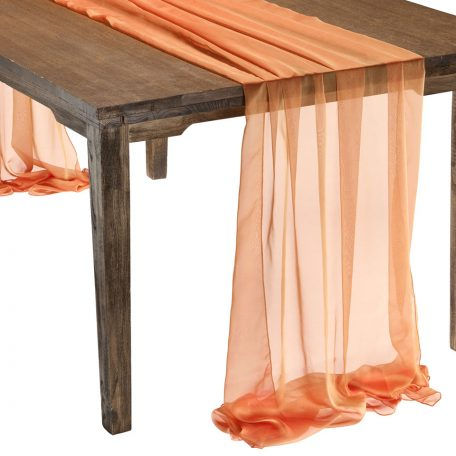 This elegant Mandarin Graceful table drape is one of several unique Gracefuls available in the Fabulous Events selection of table drapes and other linen rentals. Use it to create effortless beauty for your tables, and combine it with our other linen designs for a truly original theme. Rent it here today. 877-200-2424