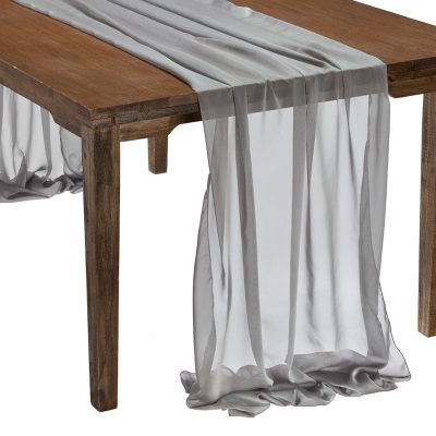 This elegant Silver Graceful table drape is one of several unique Gracefuls available in the Fabulous Events selection of table drapes and other linen rentals. Use it to create effortless beauty for your tables, and combine it with our other linen designs for a truly original theme. Rent it here today. 877-200-2424