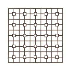 The appeal of Fabulous Events' new metal Placemats is the unexpected drama of each unique shape, pattern and finish. Bronze Deco Metal Placemat, with its traditional grid pattern, has a powerful presence that commands attention and will complement rather than overpower other event table choices. Rent it here today.