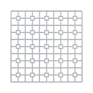 The Platinum Deco Metal Placemat may seem simple in form, but it is distinctive and prompts a dramatic reaction. One of the two unique patterns and the metal placemat collection is destined to create lasting impressions on any event table. Rent it here today.