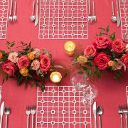 The Platinum Deco Metal Placemat from Fabulous Events may seem simple in form, but it is distinctive and prompts a dramatic reaction. One of the two unique patterns and the metal placemat collection is destined to create lasting impressions on any event table. Click or call to Rent it here today.