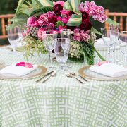 Aloe Bamboo rental table linen features a simple linen pattern that establishes a tranquil mood that adapts well to any number of affairs. Stylish and flexible, this member of the Palm Beach Chic linen family offers a wealth of possibilities! Browse the entire collection today!