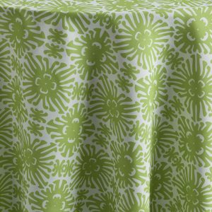 Featuring a vibrant green, Aloe Cay is the epitome of sophistication and exotic resort ambience, no matter what the location. The elegant and cheerful green pattern is light and bright. Part of the Palm Beach Chic collection, Aloe Cay is the perfect expression of beach chic. Browse the entire collection today.