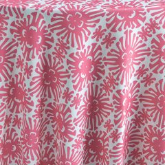 Featuring a vibrant pink, Watermelon Cay is the epitome of sophistication and exotic resort ambience, no matter what the location. Cheerfully light and bright, this linen is a statement choice. Part of the Palm Beach Chic collection, Watermelon Cay is the perfect expression of beach chic. Browse the entire collection today.