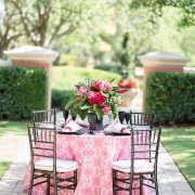 Featuring a vibrant pink, Watermelon Cay is the epitome of sophistication and exotic resort ambience, no matter what the location. Cheerfully light and bright, this linen is a statement choice. Part of the Palm Beach Chic collection, Watermelon Cay is the perfect expression of beach chic. Browse the entire collection today