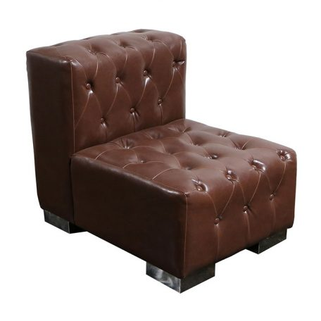 Brown Sofa rentals in Southeast Michigan for weddings, gala and special events