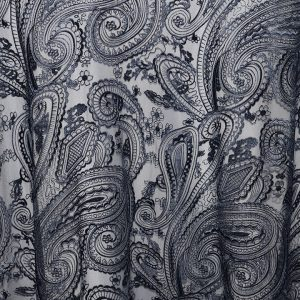 Rent paisley lace overlays from Fabulous Events. We have one of the largest selections of rental table linens, chair covers, napkins & chargers.