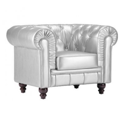 Silver Lounge Chair rental for special events in Southeast Michigan