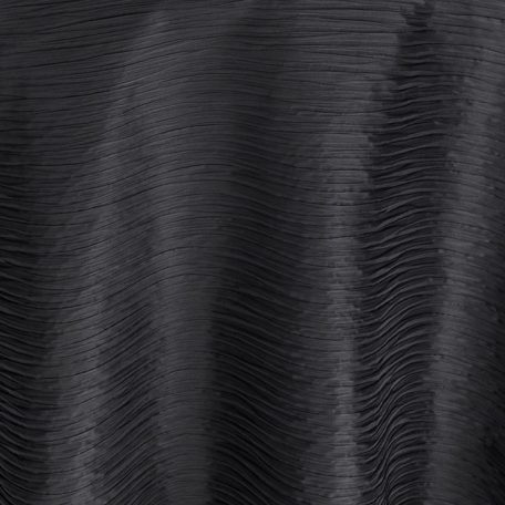 Ebony Swell Midnight Black Table Linen for Events