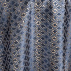 Sea Adorn Blue Diamond Table Linen for Events