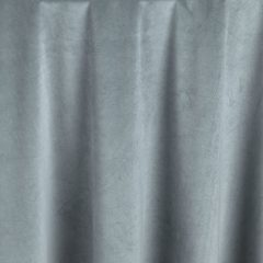 Cadet Blue Velvet Table Linen for Events