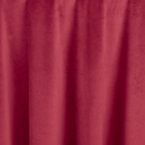 Crimson Red Velvet Table Linen for Events