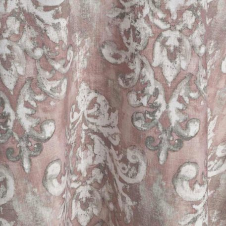 Antoinette Rose Damask Tablecloth Linen Rental for Events
