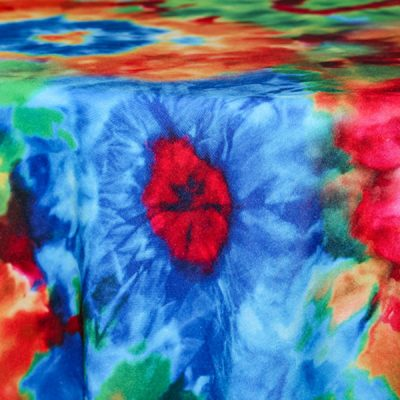 Rent our Tie Dye tablecloth for Parties and Events - Fabulous Events