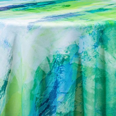 Multi-color Tablecloth Linen Rentals from Fabulous Events