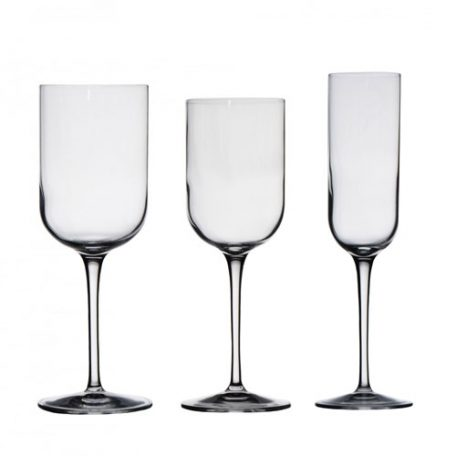 Rent Modern Glassware for your Wedding or Special Event