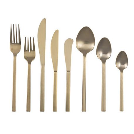Rent Gold Flatware for your Wedding, Party or Special Event