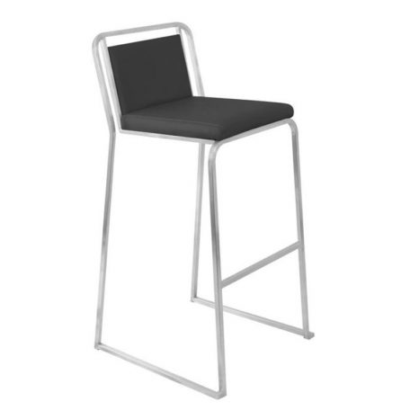 Rent Black Leather Bar Stools for Parties and Special Events.