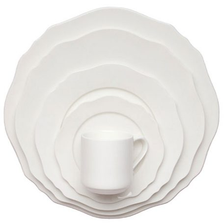 Contessa Dinnerware Rentals in Michigan and Ohio. Rent Today