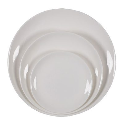 Rent Round Dinnerware for Special Events from Fabulous Events