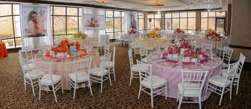 Pinwheel Table Linen Rentals from Fabulous Events. Perfect for Special Events Nationwide.