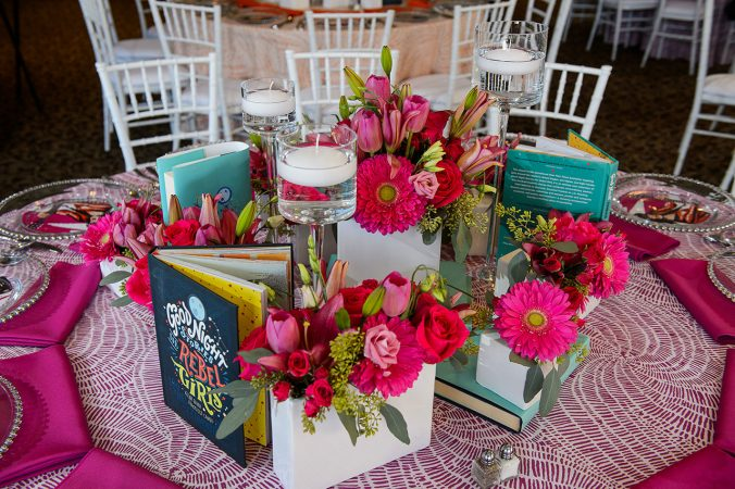 Bright pink Table Linen Rentals in Michigan and Nationwide from Fabulous Events.
