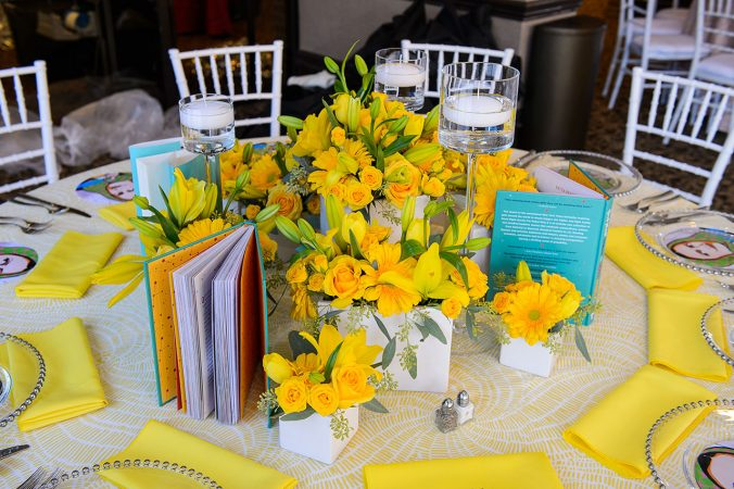 Lemon Table Linen Rentals. Yellow Napkins for Rent Nationwide from Fabulous Events.
