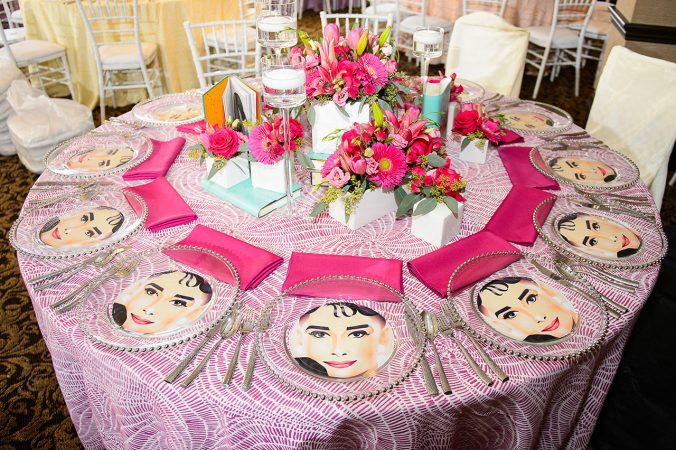 Rent Elegant Table Linens and Napkins from Fabulous Events for your Bat Mitzvah or Special Event