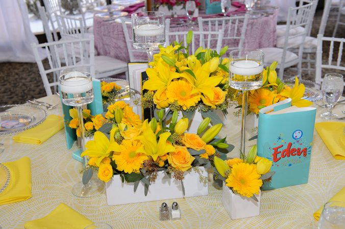 Bright Yellow Table Linen Rentals from Fabulous Events. Nationwide Shipping.