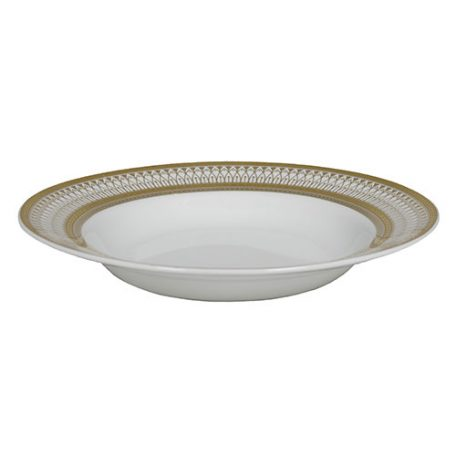 Gold Iriana Soup Bowl