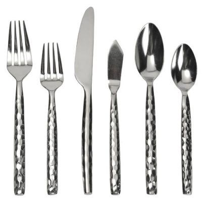 Rent Hammered Flatware for your Special Event, Gala or Party from Fabulous Events