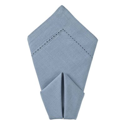 Oxford Hemstitch Dinner Napkin Rentals from Fabulous Events