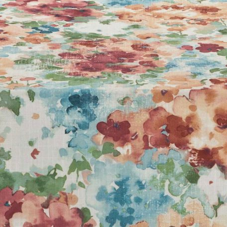Persimmon Hydrangea Table Runner