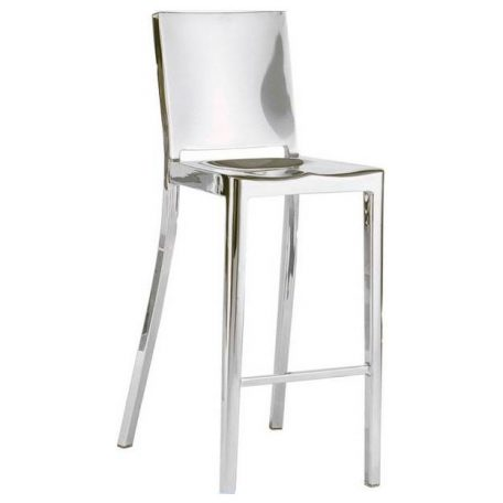 Polished Stainless Bristol Bar Stool Rental for Michigan Events